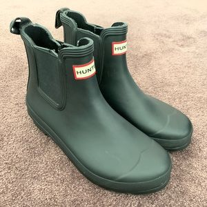 Hunter boots Wo's Sz 9